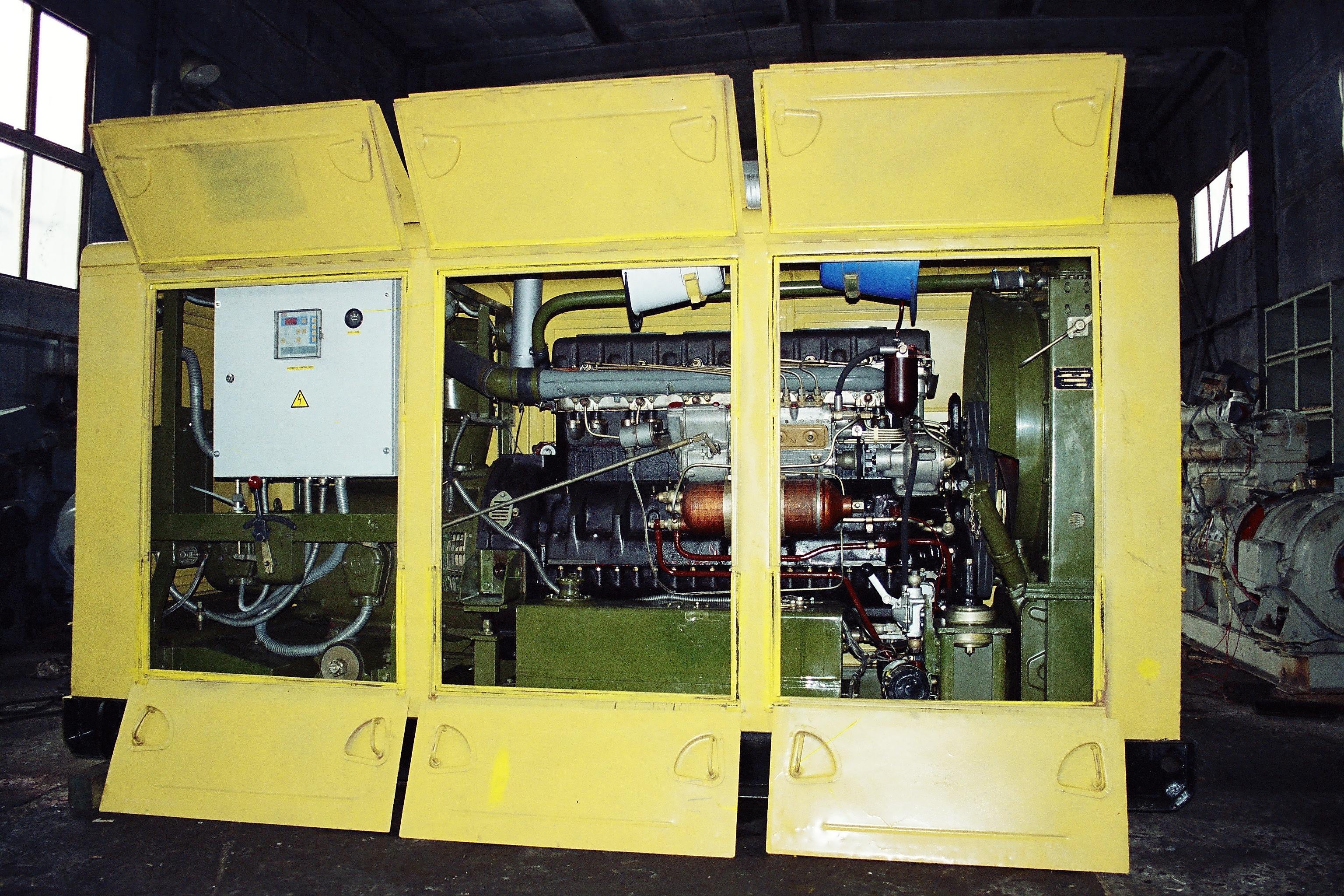 инструкция генератора ад 100 с двигателем ямз 238 в